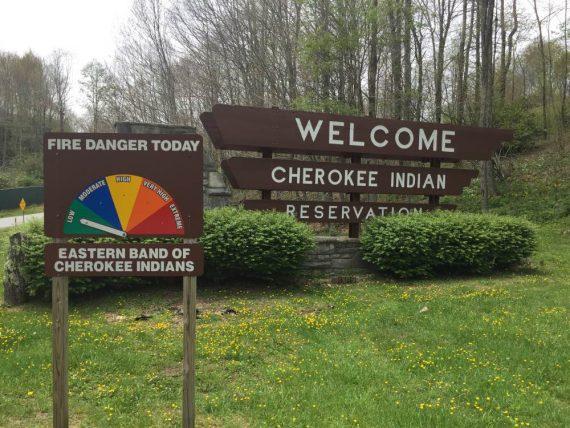 ingresso riserva Cherokee