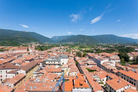 Vista dalla Torre Civica Bassano del Grappa