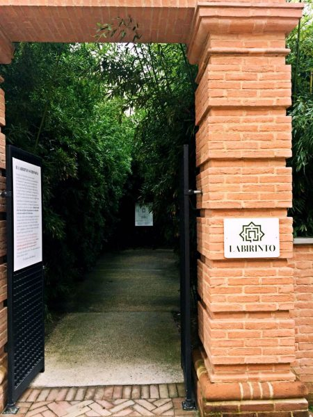 ingresso labirinto più grande del mondo