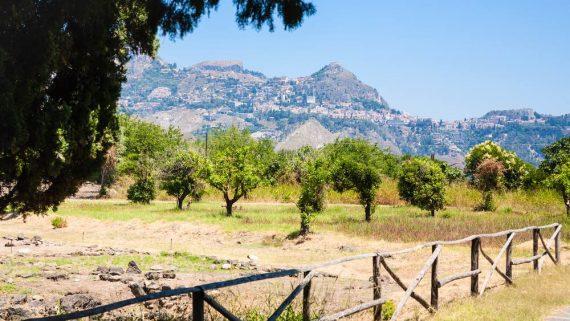 Parco archeologico Giadini Naxos