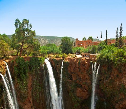 cascate più alte Marocco