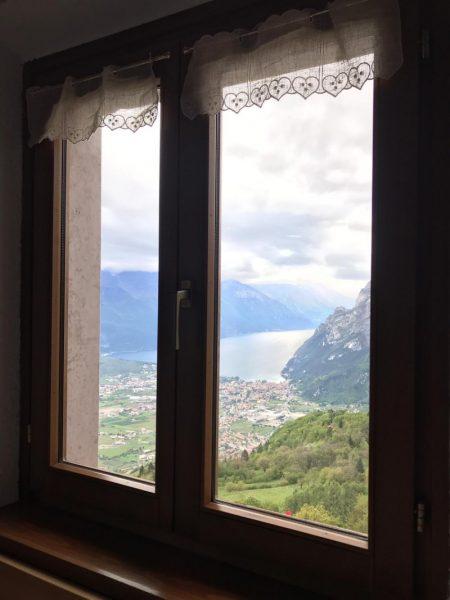 Vista finestra rifugio San Pietro