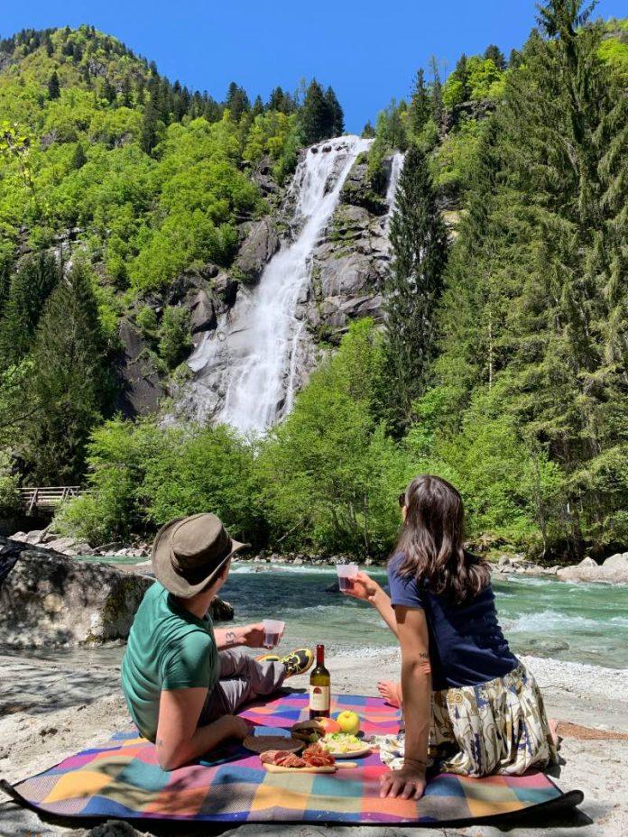 Cascata Nardis picnic blogdiviaggi