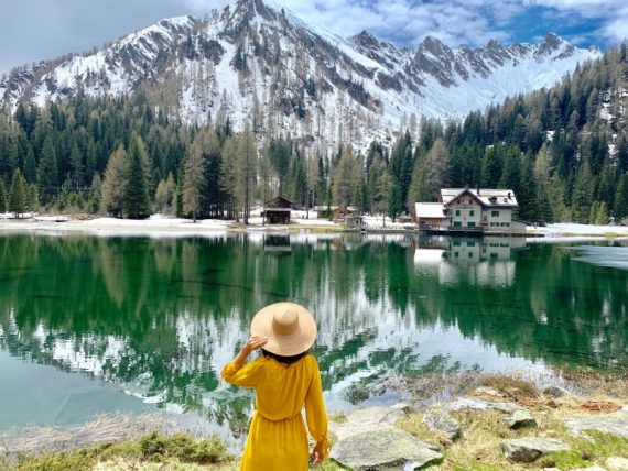 Lago Nambino Blog di viaggi itinerari trentino laghi