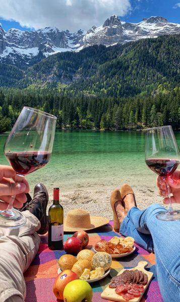 Lago di Tovel pic nic blog di viaggi laghi più belli trentino