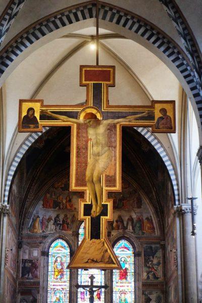 Crocifisso Giotto Santa Maria Novella Firenze